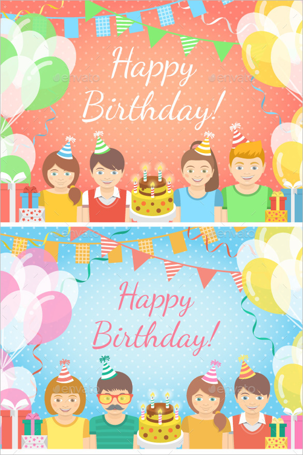 Custom Birthday Banner Design