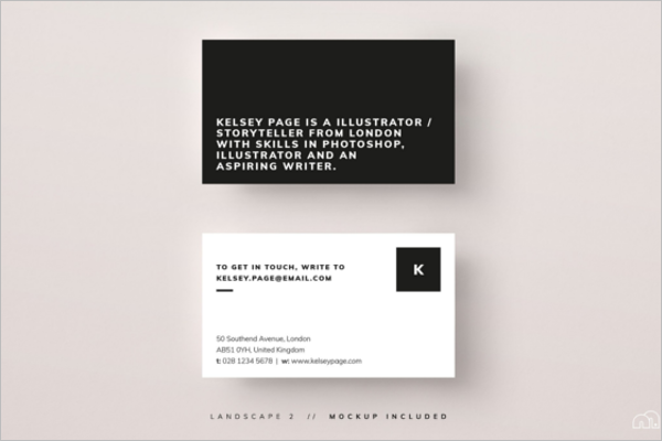 Custom Business Card In Photoshop