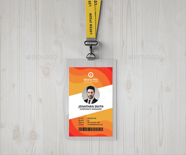 Custom ID Card Template