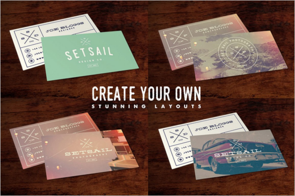 Customisable Vintage Business Card Template