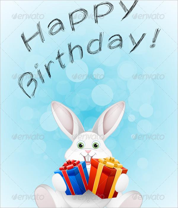 Customizable Birthday Card Template