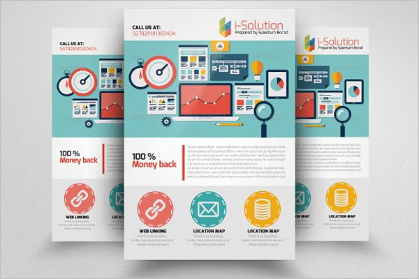 Customizable SEO Flyer Template
