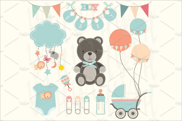 Cute Baby Shower Banner