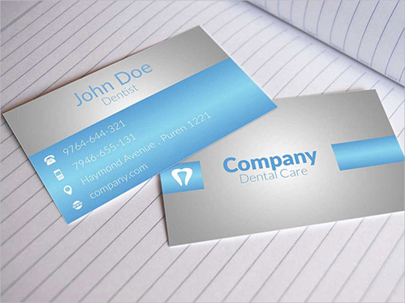 Dental Clinic Business Card Template