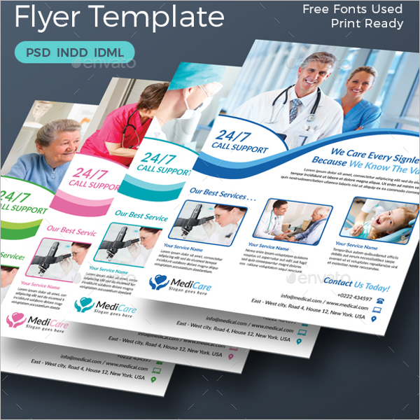 Dental Service Flyer Template