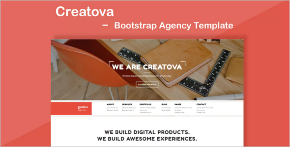 Design AgencyBootstrap Template