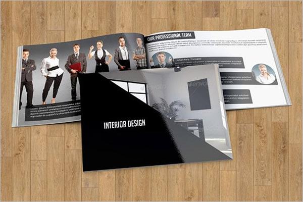 Design Template For Interior Brochure