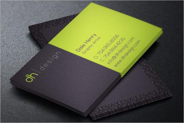 Designer Business Card Design Template