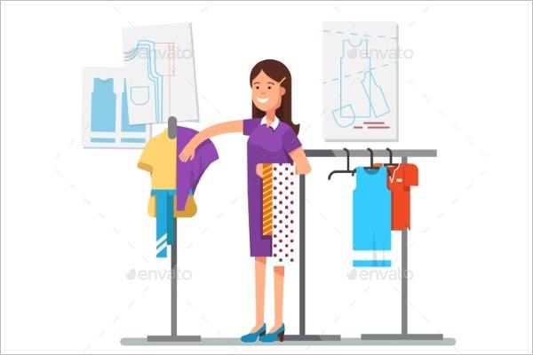 Designer Dress Template