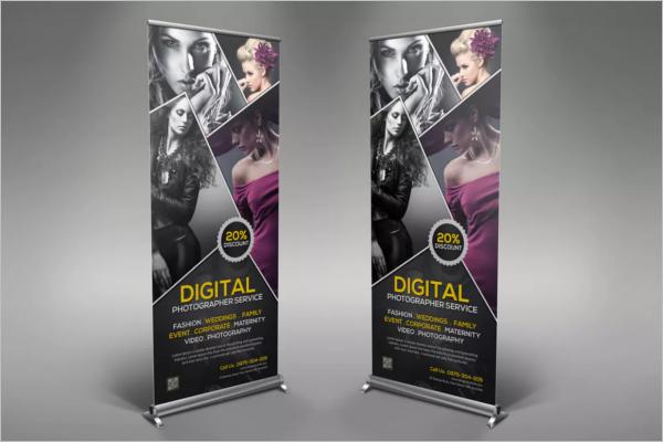 Digital Banner Design Template
