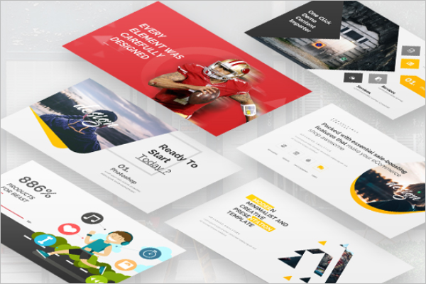 Digital Keynote Design Template