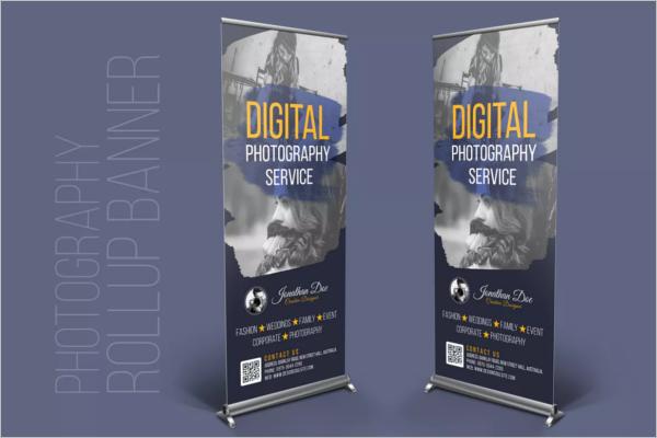 Digital Photography Banner Design