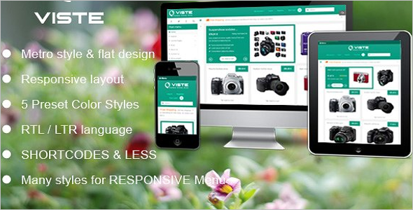Digital Store Virtuemart Template