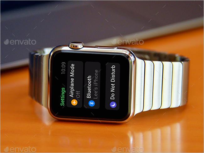 Digital Watch Mockup Template