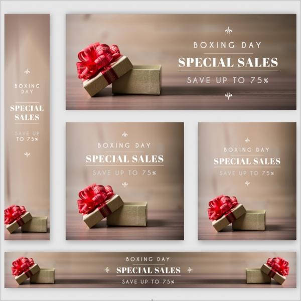 Discount Sale Web Banner Design
