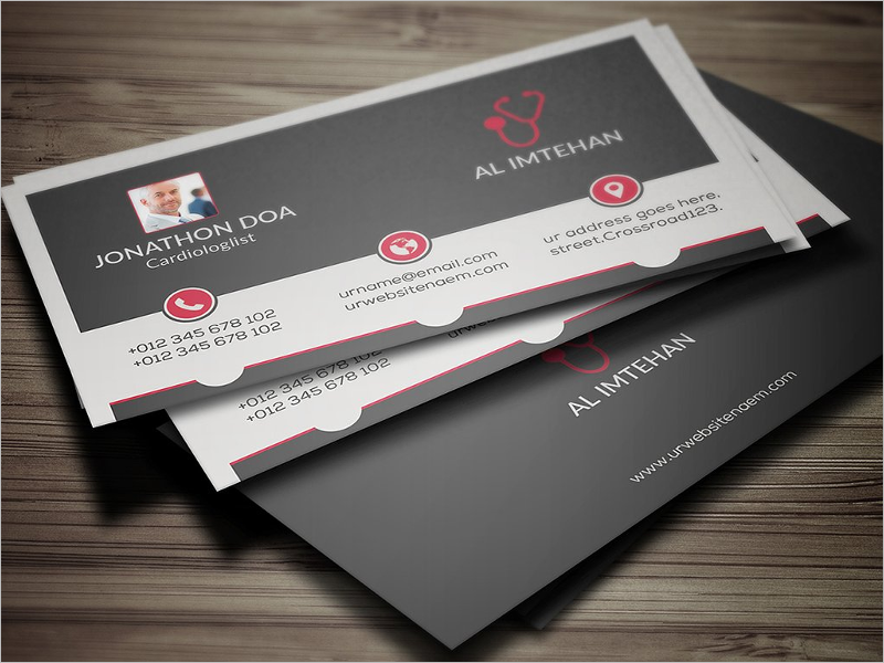 Doctor Clinic Business Card Design