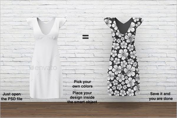 Dress Design Mockup