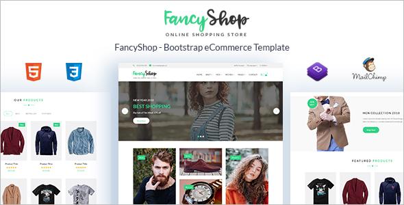 E-Commerce Bootstrap Template