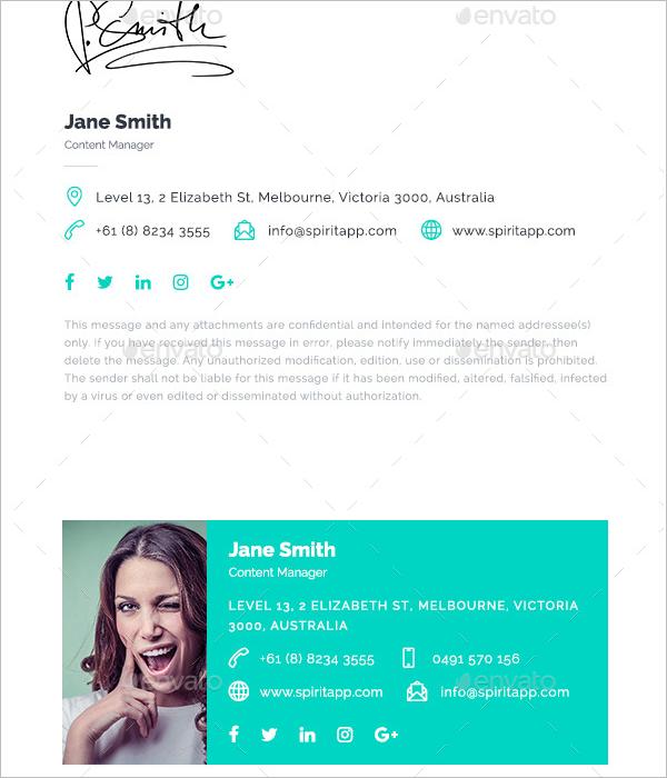 E-Signature Template