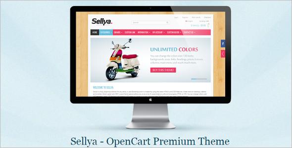 E-StoreOpencart Theme