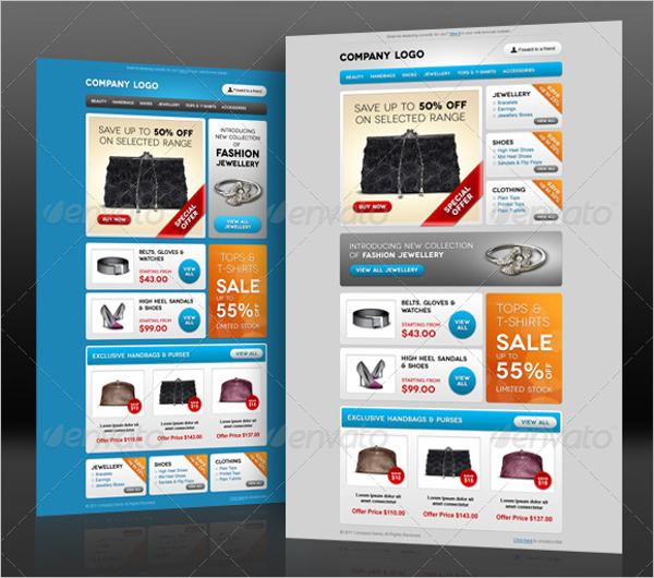 E-commerce Email Design Template