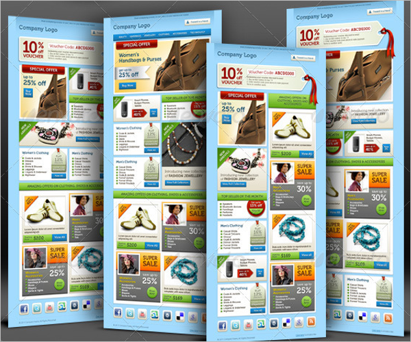 E-commerce Offers Email Template