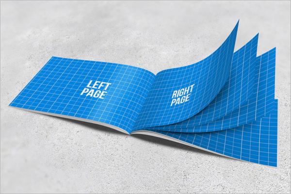 Editable A4 Brochure Mockup Design