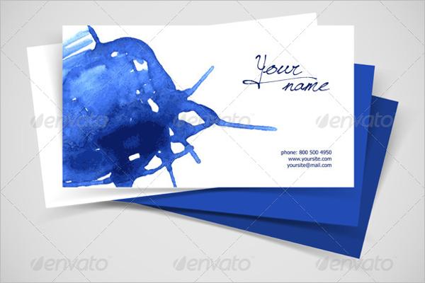 Editable Business Card Vector Design
