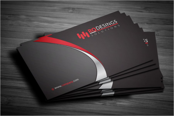 Editable Corporate Business Card Template