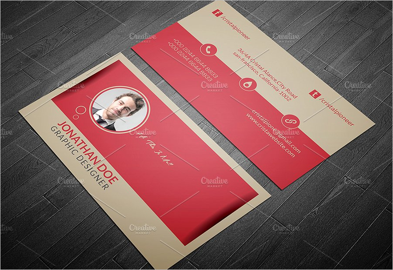 Editable Restaurant Business Card Template