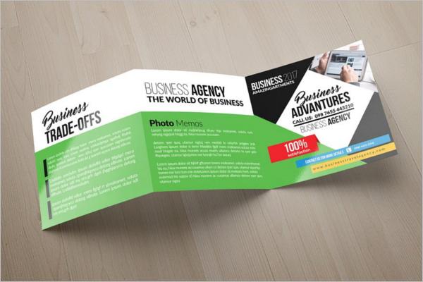 Editable Retro Brochure Template