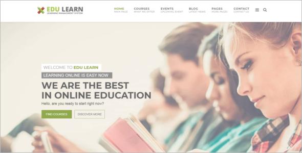 Education Web Design Joomla Template