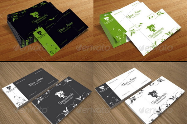 Eleagant Beauty Business Card Template
