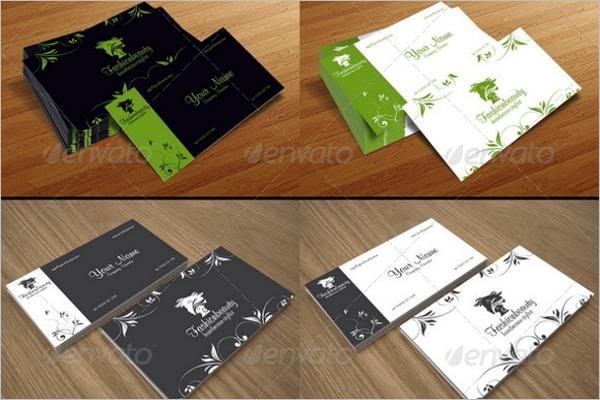 Eleagant Beauty Business Card Template