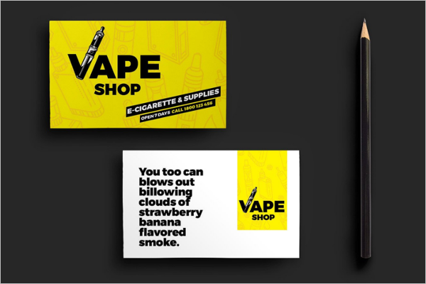 Electrical Shop Business Card Template