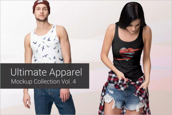 Elegant Apparel Clothing Mockup Design