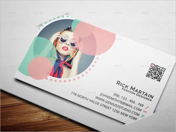 Elegant Fashion Business Card Template