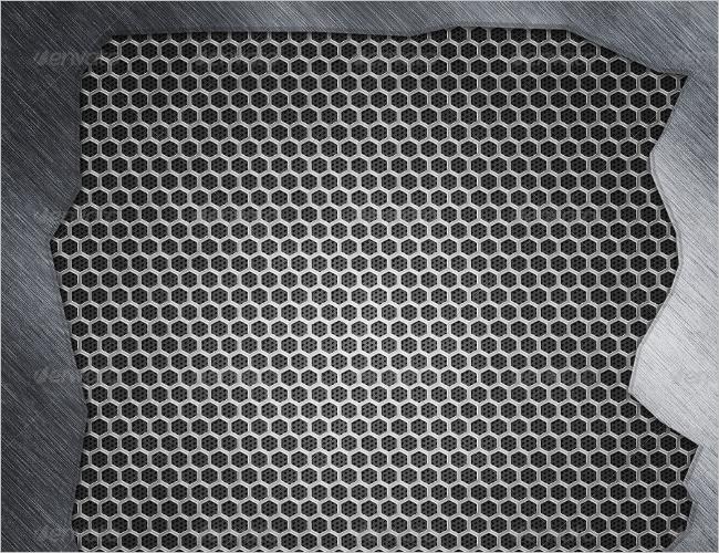Elegant Metal Wall Texture Design