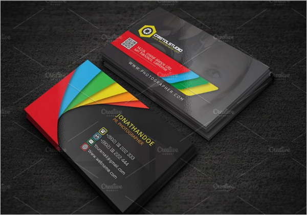 Elegant Photography Business Card Design
