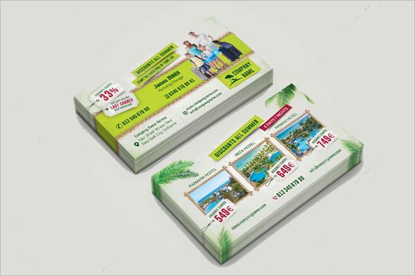 Elegant Travel Business Card Template