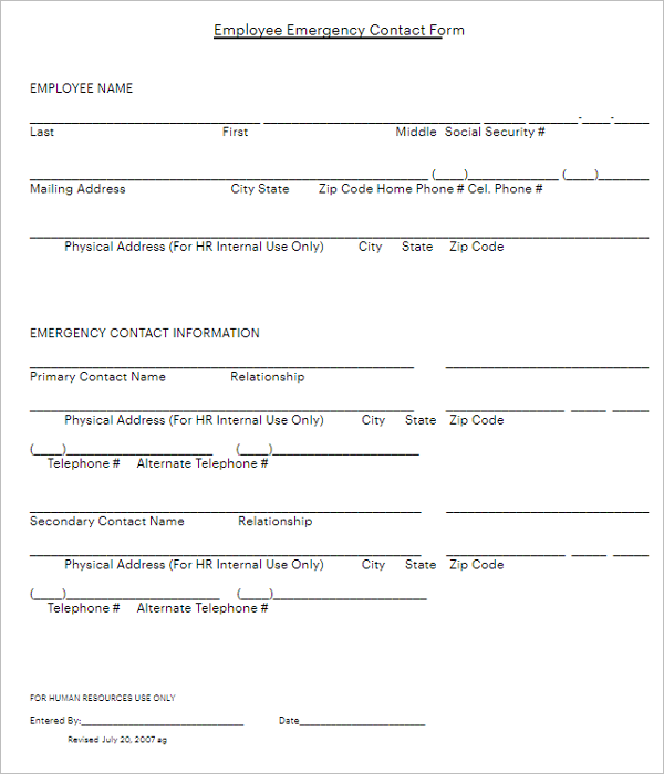 Employee Referral Bonus Form