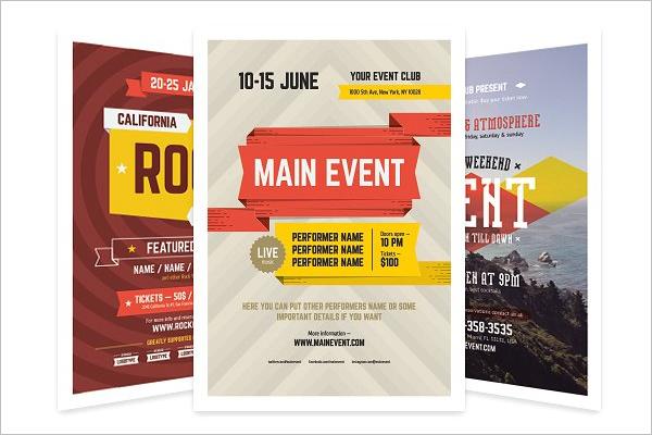 Event Flyer Bundle Design