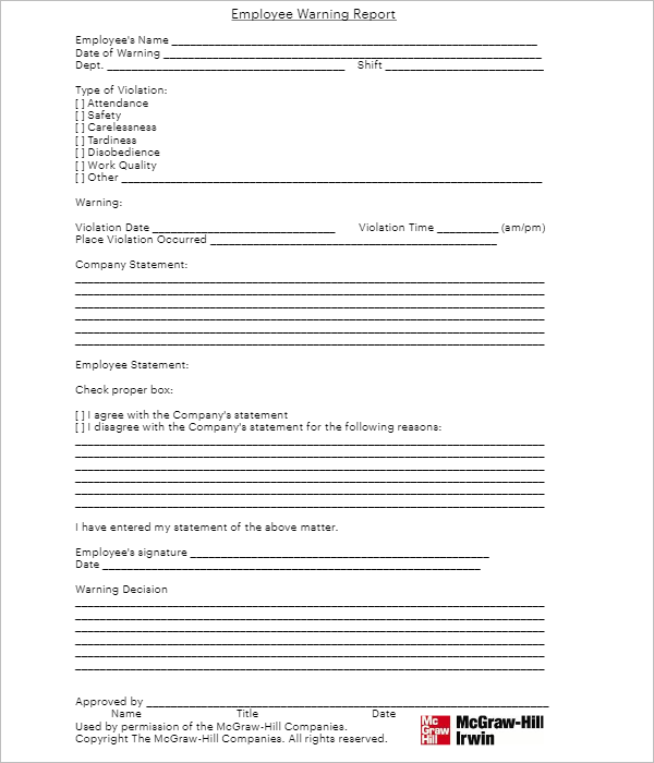 Example Employee Referral Form
