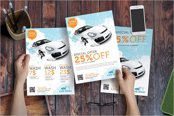 Example Of Car Wash Flyer