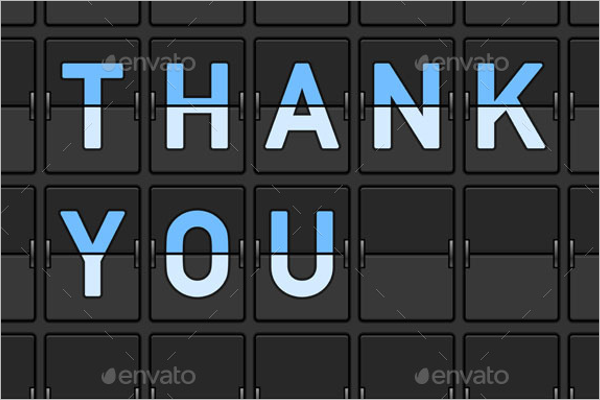 Example Of Interview Thank You Card