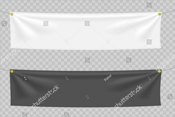 Fabric Banner Template