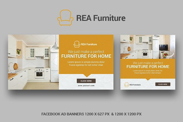 Facebook Ad Banner Template