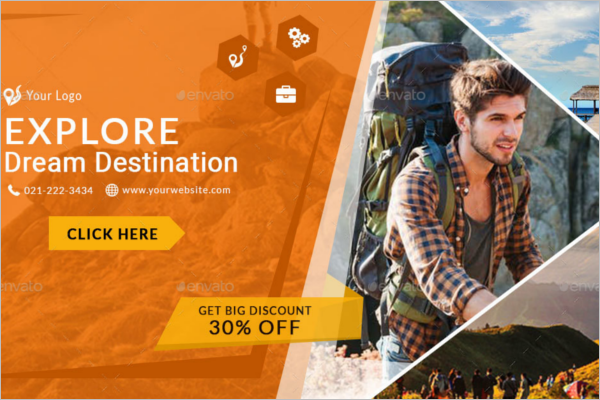 Facebook Banner Template For Travel