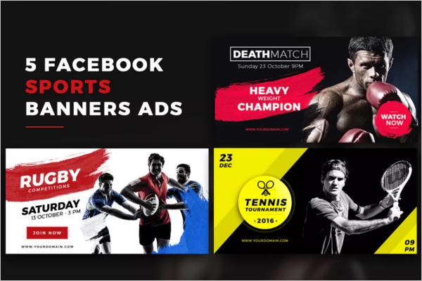Facebook Sports Banner Template