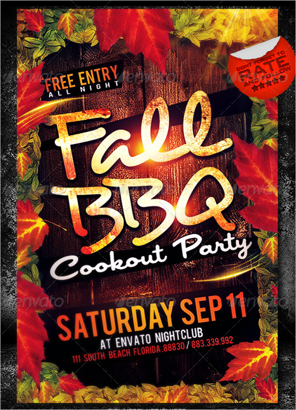 Fall Flyer Design